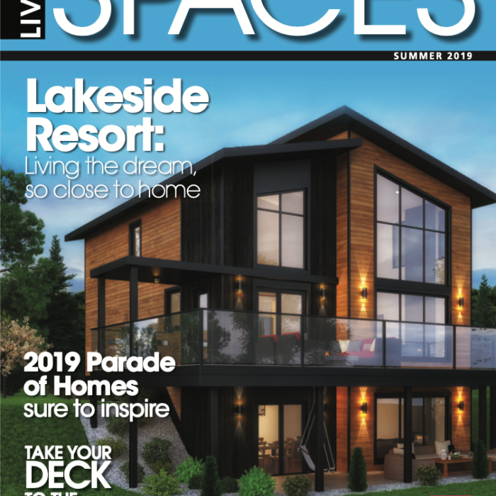 Reveal Exteriors Project Featured in Living Spaces Magazine